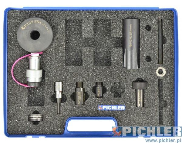 zdjęcia Zestaw do wyciągania wtryskiwaczy Bosch w Mercedesach CDI 9 części
