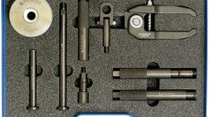 Podstawowy zestaw do wyciągania wtryskiwaczy M12x1 i M12x1,5  9 części