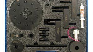 Uniwersalny zestaw do wyciągania wtryskiwaczy z siłownikiem hydraulicznym 12 t