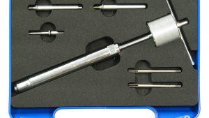 Zestaw uniwersalny do wyciągania żarników 2,7-6 mm, 7 części