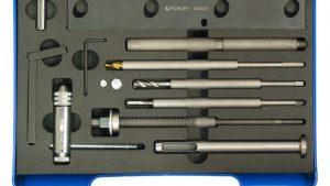 Zestaw do wyciagania zerwanych świec M10x1 silniki F9Q, K9K 1.9 i 1.5, Reanutl Opel, Nisan