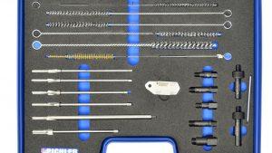 Zestaw do czyszczenia i frezowania gniazd swiec żarowych M8,M9,M10,M12 Uniwersalny