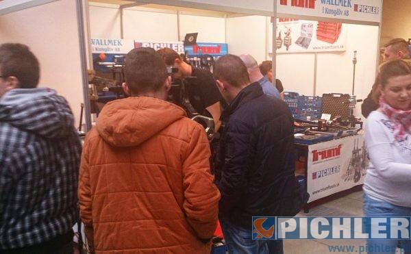 targach Motoryzacyjnych w Ostródzie, gdzie zostały zaprezentowane narzędzia firmy PICHLER